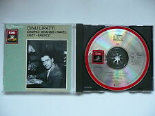 Lipatti plays Chopin, Brahms, Ravel, Liszt & Enesco EMI Reference 763 038 CD