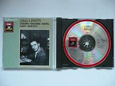Lipatti plays Chopin, Brahms, Ravel, Liszt & Enesco EMI Reference 763 038 CD