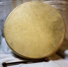 "14"" Professional Bodhran Celtic Drum  Wood Goatskin Handcrafted in Ireland"