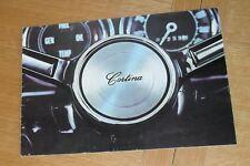 Ford Cortina Mk2 Brochure 1967-1968 - De Luxe Super GT Lotus - Saloon & Estate