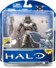 Halo 10th Anniversary Platinum Master Chief Exclusive Action Figure