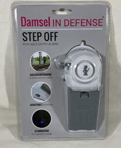 Damsel In Defense - Step Off Portable Entry Alarm, New, Sealed 120 Decibel Alarm