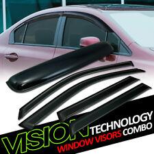 Sun Rain Wind Vent Window Visors+Moonroof Roof Deflector 5P 01-10 Bmw X5 E53/E70