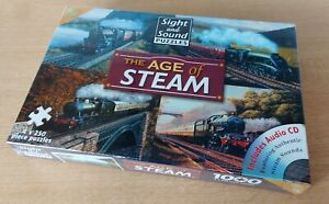 The Age Of Steam 4 x 250 Piece Jigsaw, New & Sealed, Sight & Sound, Trains