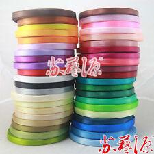 500yards/lot = 20 roll.Wedding ribbon 6mmsingle-sided ribbon Color mixing random