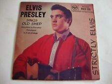 Elvis Presley 45 EP Strictly Elvis (RCA Victor RCX 175, UK)