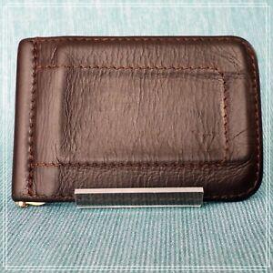 LOUIS VUITTON Utah Portefeuille Pince Card Holder Money Clip M95454 Auth