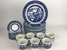 Blue Willow Churchill England Dinnerware Multiple Pieces Available