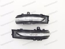 1 Pair LH RH Side Door Wing Mirror Indicator Lens Lamps For Ford Edge 2015