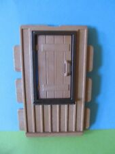 PLaymobil Western 3770 Farmhaus Wand mit Holz Tür selten 3669