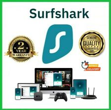 SURFSHARK VPN |24 Months Account Access| Fast Delivery| BEST SUPPORT|
