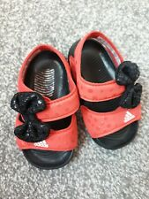 Girls New Adidas Minnie Mouse Sandals