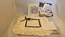 """The Extension Pre-Finished Pillow Sham Monogram """"B"""" Needlepoint."""