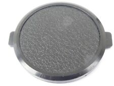 Used 49mm Lens Front Cap Black snap-on type made in Hong Kong plastic