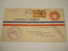 PAA PAN AM AMERICAN Airlines PANAMA SC C 1 + overprint ! CHARLES LINDBERGH ? SEE