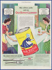 Vintage 1939 OLD DUTCH CLEANSER Polish Cleaner House Cleaning 30's Print Ad
