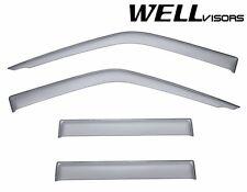 WellVisors Side Window Visors Deflectors For 99-04 Nissan Frontier Crew Cab D22