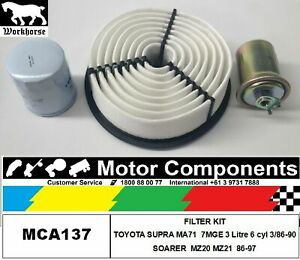 FILTER SERVICE KIT for TOYOTA  SOARER MZ20 MZ21 7M-GTEU TURBO 3L  86-97