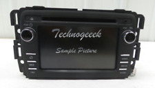 2013-2014 CHEVY Traverse BUICK Enclave Touch Screen MP3 CD USB SAT OEM 23130123