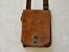 Belstaff  --  Leather Bag  --  Messenger Bag  --  British Tan Leather