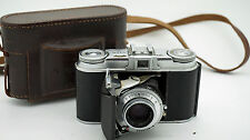 VOIGTLANDER VITO II 35mm Pellicola Pieghevole Fotocamera Con Custodia K9