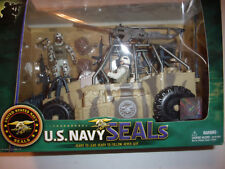 New!! (2) U.S. Navy Seals Speed Boat / Patrol Vehicle playsets