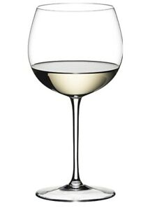 Pair (2) Riedel Sommeliers Montrachet/Chardonnay/Whites Mouth-Blown Wine Glasses