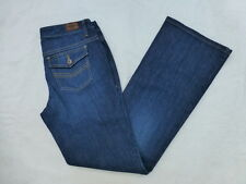 WOMENS TOMMY HILFIGER FREEDOM BOOTCUT JEANS SIZE 6x32.5 #W697
