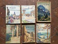 Lote 14 Colección Las Bonitos País Monumentos Y Edificios B. Arthaud Grenoble