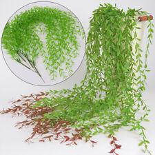 Falso Artificial Llorando Sauce Hiedra Plantas Exterior Decoración de Pared