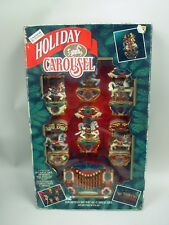 Musical Holiday Carousel Mib by Mr. Christmas 1992