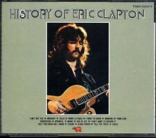 ERIC CLAPTON History Of-  JAPAN 1987 1st Press 2 CD P58W25024/5 MEGA RARE!