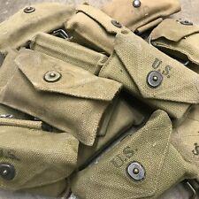 US Army WWII Era M1942 First Aid Kit Khaki Canvas Pouch L-98