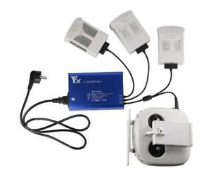 Upgraded 4 in1 rapid Charger for Phantom 4/Phantom Pro #P4-BC02