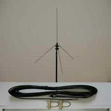 new 15M Cable Powerful 1/4 GP antenna BNC for 0.5W-30 Watt FM transmitter