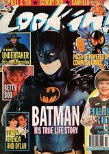 Look-In Magazine 22 August 1992      Luke Perry & Shannen Doherty     Betty Boo
