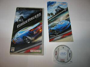 Ridge Racers Playstation Portable PSP Japan import US Seller