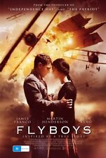 FLYBOYS Movie POSTER 27x40 B James Franco Martin Henderson David Ellison