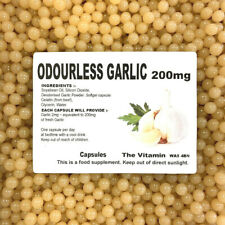 Odourless Garlic 200mg      90 Capsules             (L)