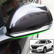 For Honda HR-V 2016-18 Chrome Side Mirror Cover Strip Trim Overlay Guard Molding