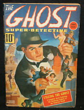 Ghost Super-Detective Vol. 1 #1 Pulp - Calling the Ghost (VF+ / F) January, 1940