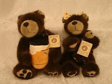 BOYDS BEARS HEIRLOOM SERIES BUBBA MOM AND BABY &  DADDY BUBBA NWT 904481 904480
