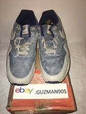 2004 Nike Air Max 1 LTD Dirty Denim Size 8.5 307779 401 Euro Patta Mesh 87