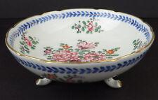 Signed Porcelain Footed Bowl Hand Painted Signed JPT Paris FRANCE Gilt Feet R