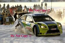Mikko Hirvonen Ford Focus RS WRC 06 Swedish Rally 2006 Photograph