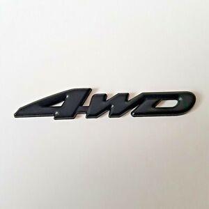Noir 3D Métal 4WD Badge Emblème pour Citroen Envoi Berlingo Spacetourer Xsara