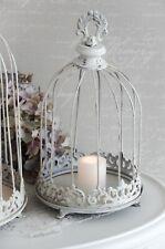Pflanzschale Metallkrone Metallkorb Kerzenleuchter Shabby Chic Landhaus klein