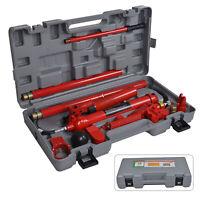 Hydraulic Power Car Van Jack Body Porta Frame Repair Kit Auto Car Tool 10t ton