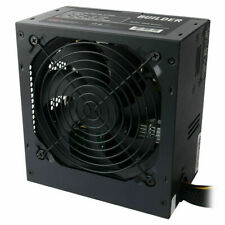 CiT Builder 600W Power Supply Unit with 120mm Silent Fan for PC - Black