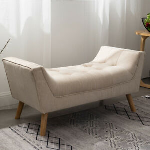 Chesterfield Button Window Seat Hallway Bed End Chair Coffee Table Pouffe Bench